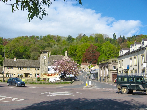Nailsworth in the Cotswolds, Gloucestershire