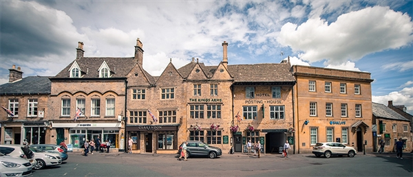The Market Square in Stow-on-the-Wold