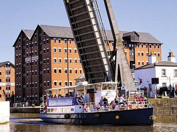 Don't forget the Boat Trips operating from the National Waterways Museum at Gloucester Docks. Running daily until 27 October.