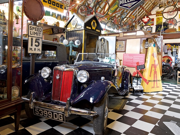 Cotswold Motoring Museum & Toy Collection located in the heart of Bourton-on-the-Water
