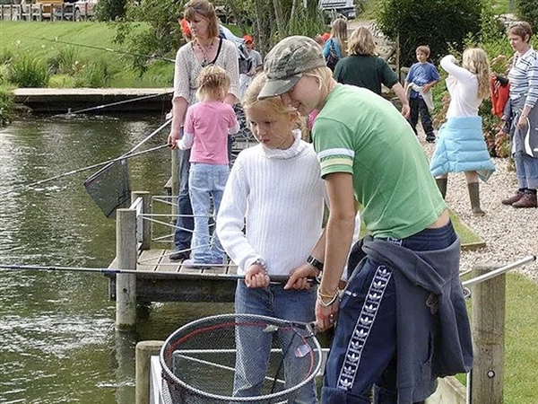 Bibury Trout Farm located in the heart of the Cotswolds