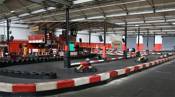 JDR Karting situated adjacent to Gloucester Quays near Gloucester Docks