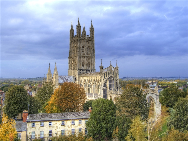 Gloucester Cathedral - the centre point of the historic city of Gloucester (Photo: Neil Wildin)