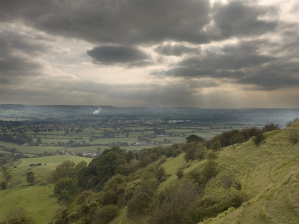 Photo: Alan Ford / View from Haresfield Beacon