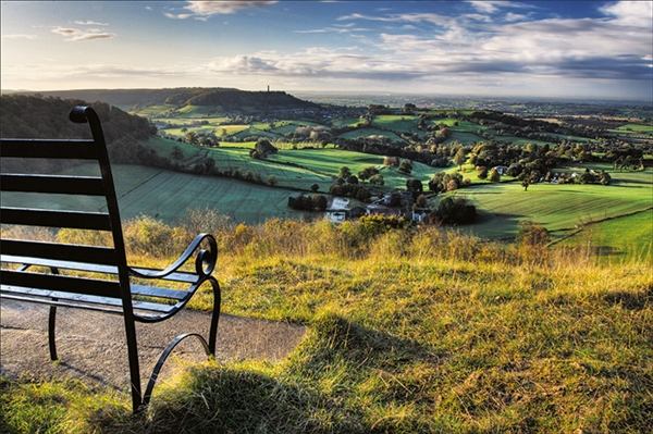 Photo: View from Stinchcombe Hill by David Gamm