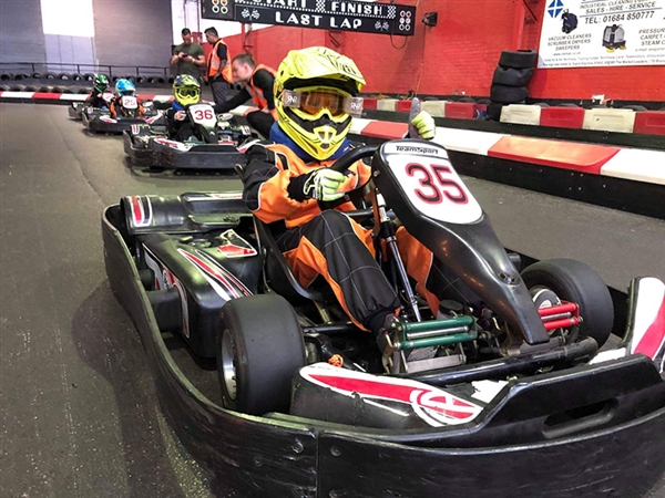 Childrens Birthday Parties in Gloucester with JDR Karting & Activity Centre near Gloucester Docks