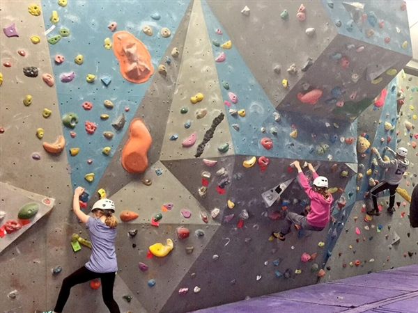 Kids Birthday Parties at Far Peak Climbing Centre near Northleach in the Cotswolds