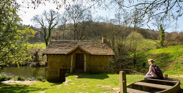 Woodchester Park is found in the Stroud valleys in the Cotswolds