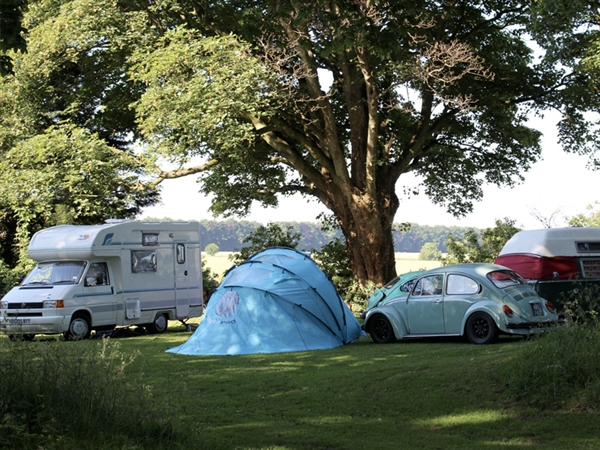 Folly Farm Camping Site near Bourton-onthe-Water in the Cotswolds