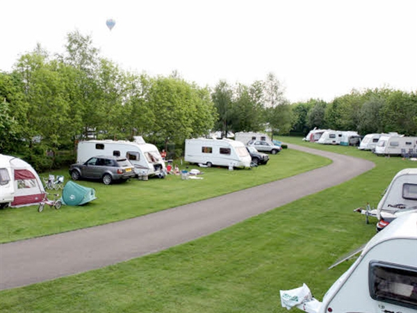 Cirencester Park Caravan Club Site is 15 minutes drive to the Cotswold Water Park