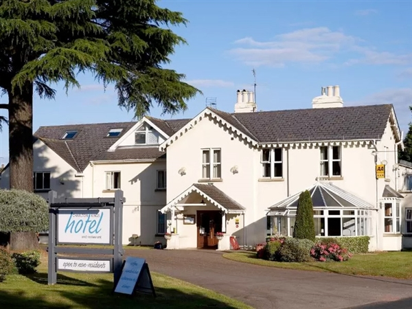 Charlton Kings Hotel on the outskirts of Cheltenham and a great place to explore the Cotswolds
