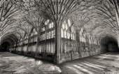Highly commended: The Cloisters, Gloucester Cathedral by Jeff Arris