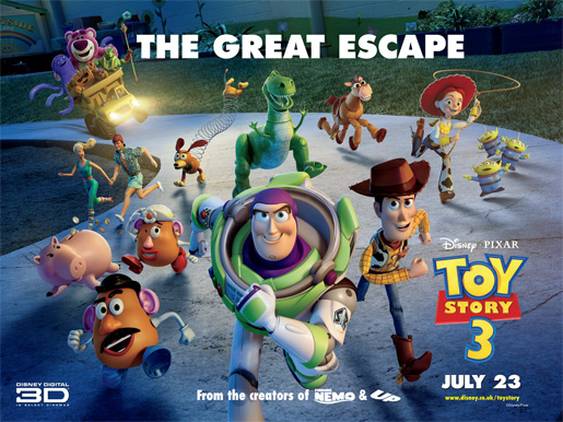 Win 4 tickets to see Toy Story 3 - Regional Premiere at The Brewery, Cheltenham