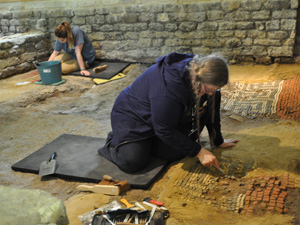 Festival of Archaeology at Chedworth Roman Villa