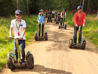 Go Ape Forest Segways Forest of Dean
