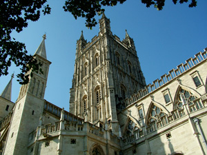 Nelson Madela commeration at Gloucester Cathedral