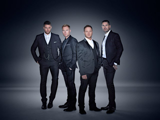 Boyzone at Westonbirt 2014