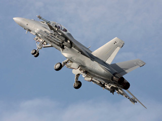 Super Hornet to create Airshow buzz