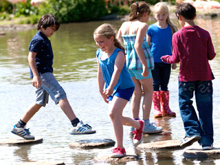 Kids go free at WWT Slimbridge this Easter holidays