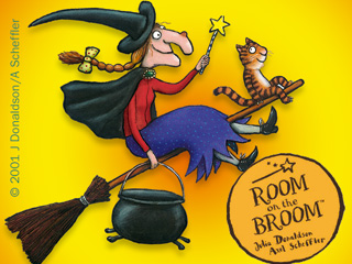 Room On The Broom Takes Off Over Easter at Dean Heritage Centre