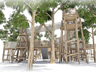 Sky Maze coming soon to Cotswold Wildlife Park & Gardens!
