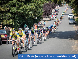 The Tour of Britain in Gloucestershire