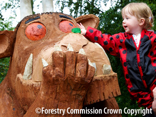 The Gruffalo's Child Trail in Gloucestershire