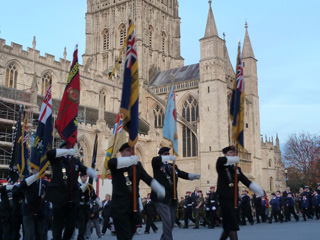 Gloucester Cathedral Service of Remembrance