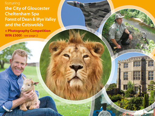 2015 Explore Gloucestershire printed guide NOW OUT