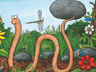 New Forest Trail for the Forest of Dean: SUPERWORM!