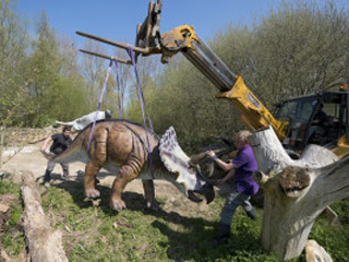 The Jurassic Journey - Dinosaurs at Birdland Park and Gardens