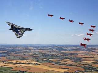 Bumper crowds thrill to spectacular Air Tattoo!
