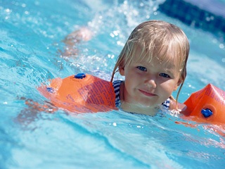 Children's summer swim offer at Cascades Leisure Centre