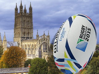 Gloucester Cathedral to host a Rugby World Cup 2015 Welcome Ceremony for Scotland