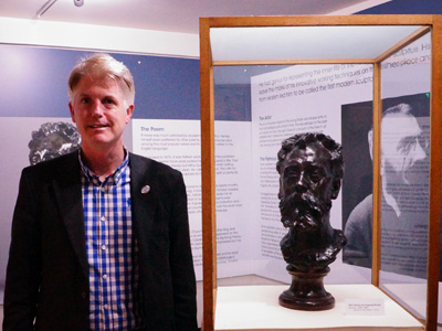 Rodin Bust at Gloucester Ciy Museum