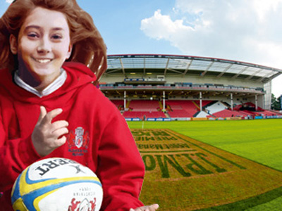 Girls Only Rugby Camps in Gloucestershire