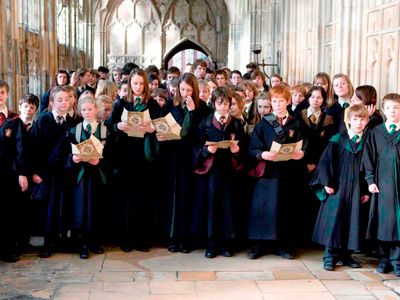 Harry Potter at Gloucester Cathedral