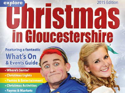 Christmas in Gloucestershire 2015 printed guide now out!