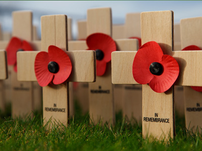Remembrance Sunday and Pause to remember in Cheltenham
