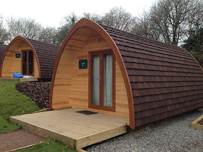 Review of Mega Glamping Pods at Whitemead Forest Park
