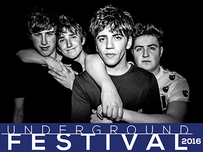 Pretty Vicious lead first Underground Festival line-up announcement