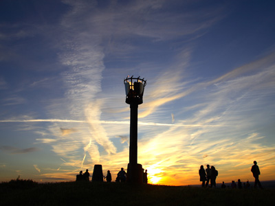 Beacons in Gloucestershire for Queens 90th birthday