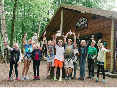 Tree Top Junior Birthday Parties at Go Ape