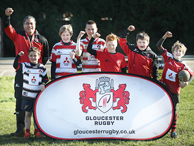 Book now for Gloucester Rugby Summer Camps