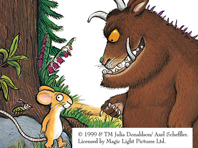 The Gruffalo returns to the Forest of Dean!