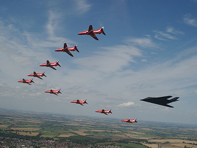 Air Tattoo reveals trademark showstopper!