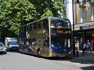 Stagecoach West service improvements and changes from 4 September