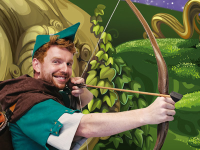 Robin Hood & the Babes in the Wood at The Roses Theatre, Tewkesbury
