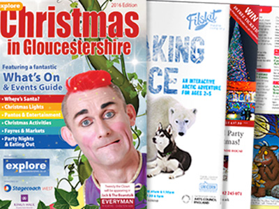 Christmas in Gloucestershire 2016 guide now out!