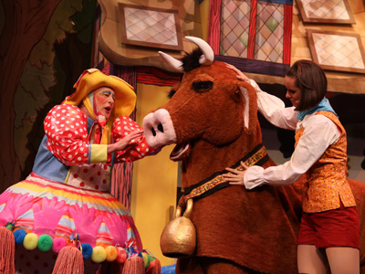 Jack and the Beanstalk at the Everyman Theatre, Cheltenham 2016
